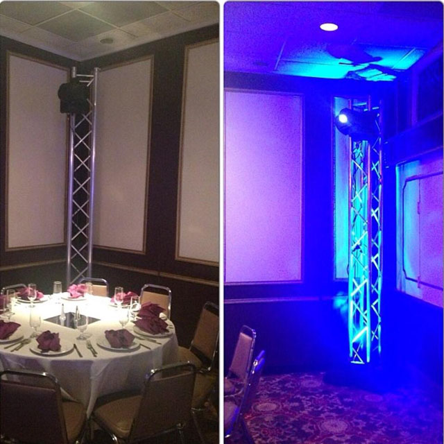 A Global Audio Visual Project @ La Fontaine Bleue, MD (#Lighting)